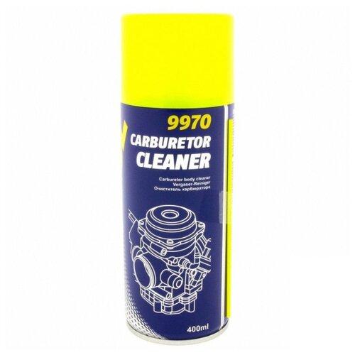 Очиститель Mannol Carburetor Cleaner 0.4 л баллончик mannol очиститель салона и кузова автомобиля mannol 9972 universal cleaner 0 5 л
