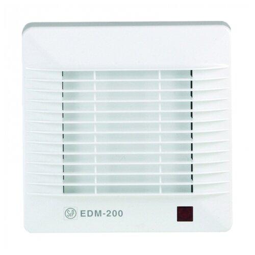 Вытяжной вентилятор Soler & Palau EDM-100 CR, белый 17 Вт вытяжной вентилятор soler