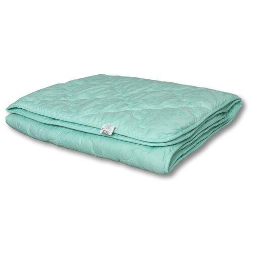 Купить Одеяло АльВиТек Эвкалипт-Микрофибра 105х140 см голубой, Покрывала, подушки, одеяла