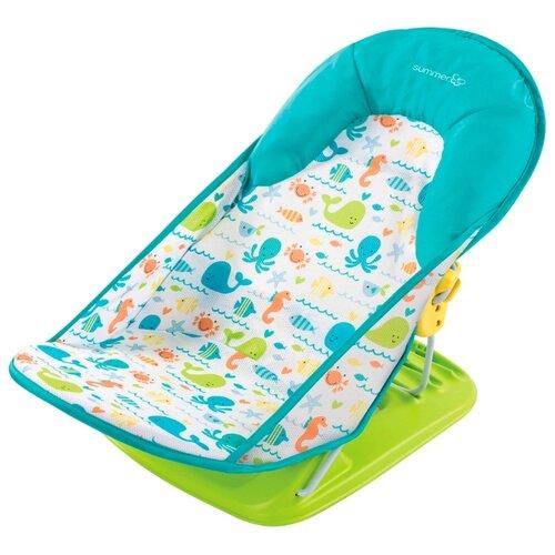 Купить Горка для купания Summer Infant Deluxe Baby Bather whalin around, Сиденья, подставки, горки