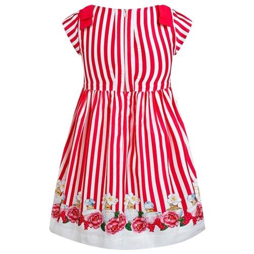 Купить Платье Mayoral размер 134, полоска/белый/розовый, Платья и сарафаны