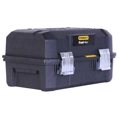 Ящик STANLEY FatMax Cantilever FMST1-71219 45.7x23.6x31 см 18'' черный ящик тележка stanley 1 94 210 fatmax mobile work station cantilever 52x38x73 см черный