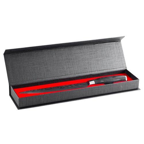 gipfel нож разделочный colombo 20 см коричневый GIPFEL Нож разделочный Barocco 20 см черный