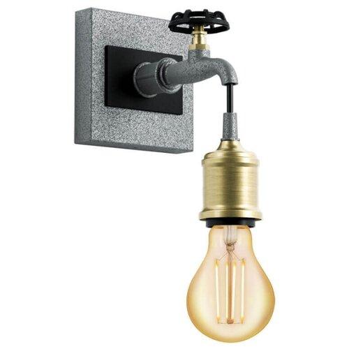Настенный светильник Eglo Goldcliff 49101, 60 Вт люстра eglo goldcliff el 49099