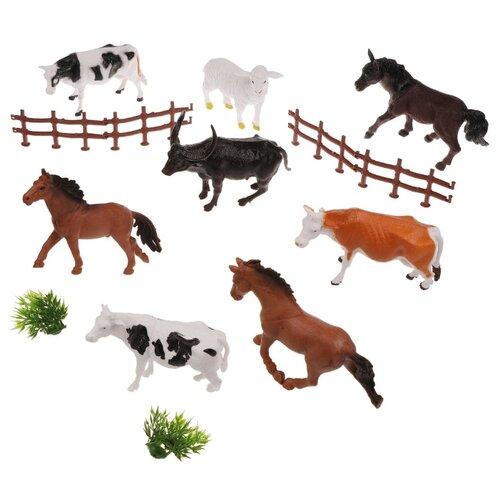 Фото - Набор фигурок Наша Игрушка Домашние животные, 8 штук, аксессуары (X-41) набор фигурок домашние животные 6 шт