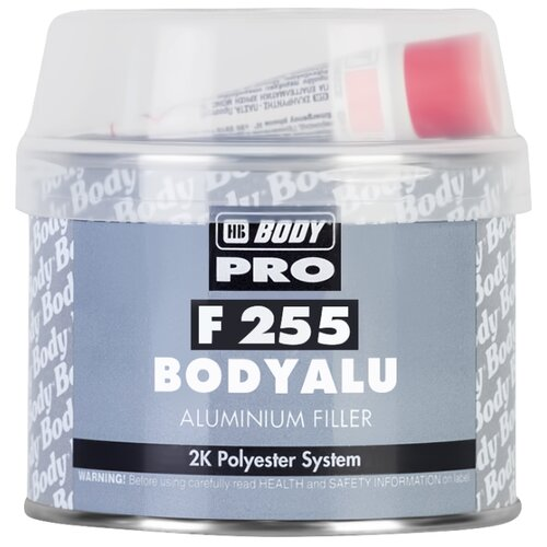Комплект (шпатлевка, отвердитель) HB BODY PRO F255 Bodyalu 0.25 кг