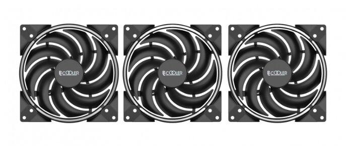 Система охлаждения для корпуса PCcooler CORONA FRGB (3 in 1)