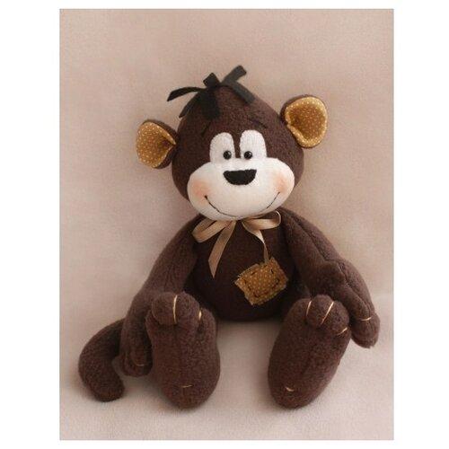 Купить Набор для изготовления текстильной игрушки Monkey story , 16 см, арт. MN001, Ваниль, Изготовление кукол и игрушек
