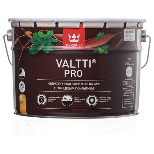 Водозащитная пропитка Tikkurila Valtti Pro красное дерево 9 л