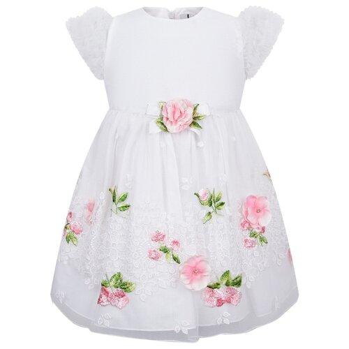Платье Lesy размер 92, белый