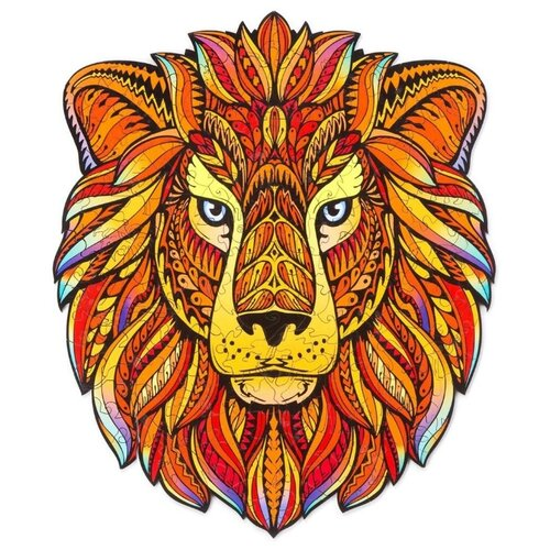Купить Деревянный пазл «Король лев» 25 x 30 см средний, Woody Puzzle, Пазлы