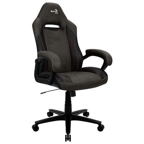 Компьютерное кресло AeroCool BARON Lite игровое, обивка: текстиль/искусственная кожа, цвет: Iron Black корпус aerocool xpredator x3 evil black edition