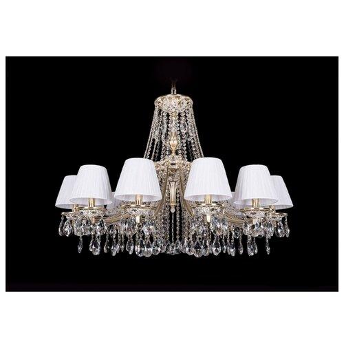 Люстра Bohemia Ivele Crystal 1771 1771/12/340/A/GW/SH32-160, E14, 480 Вт настольная лампа bohemia ivele 7003 1 33 gw sh2 160