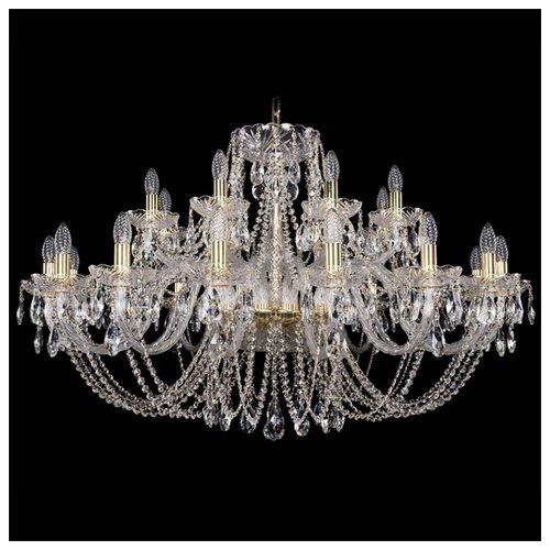 Люстра Bohemia Ivele Crystal 1406 1406/16+8/400/G, E14, 960 Вт bohemia ivele crystal 1406 16 8 4 400 160 2d g