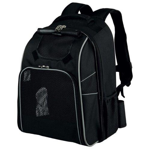 Рюкзак-переноска для собак TRIXIE William 32х23х43 см черный