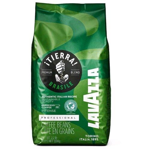 цена Кофе в зернах Lavazza Tierra Brasile, арабика/робуста, 1000 г онлайн в 2017 году