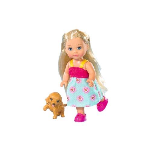 Купить Кукла Simba Еви с собачкой, 17 см, 5730513-1, Куклы и пупсы