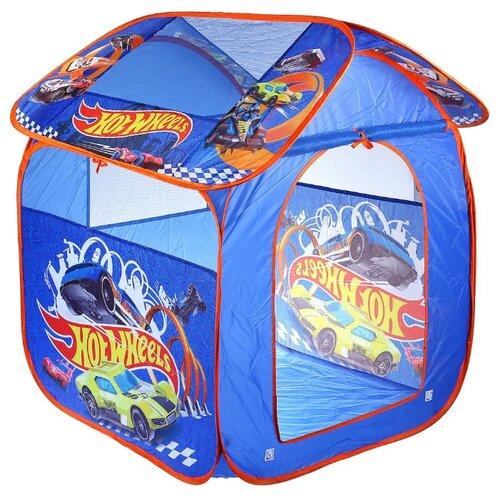 Купить Палатка Играем вместе Hot Wheels домик в сумке GFA-HW-R синий, Игровые домики и палатки