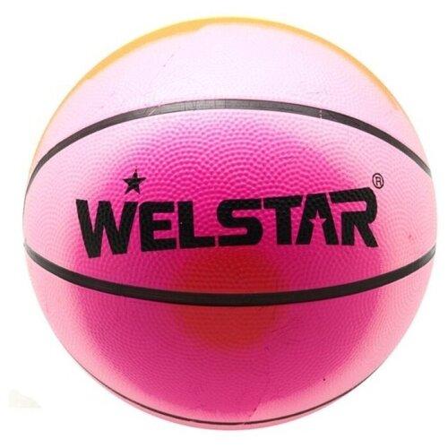 Баскетбольный мяч WELSTAR BR2828-5, р. 5 разноцветный