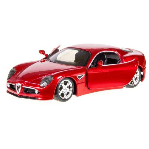 Купить Легковой автомобиль Bburago Street Fire Alfa Romeo 8C Competizione (18-43000/9) 1:32 красный, Машинки и техника