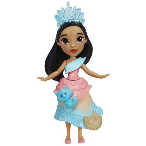 Купить Кукла Hasbro Disney Princess Покахонтас Маленькое королевство, 7.5 см, E0206, Куклы и пупсы