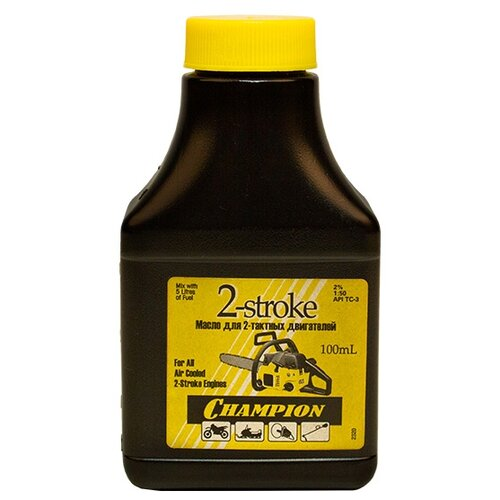Масло для садовой техники Champion 2-stroke, 0.1 л