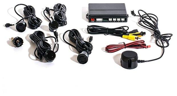 Задние парктроники AVIS Electronics PS-03V черный