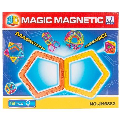 Магнитный конструктор Наша игрушка Magic Magnetic JH6882