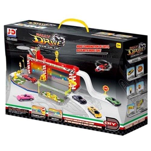 JD Chjiahuida Toys Rally Drive 59932 красный/серый/желтый/белый jd коллекция желтовато бурый 39