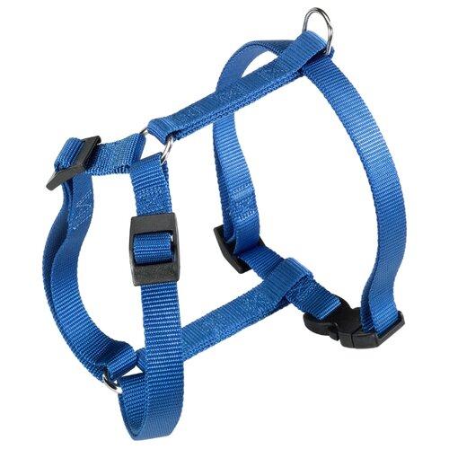 Шлейка Ferplast Champion P S, обхват шеи 25-36 см, синий шлейка ferplast hercules p s обхват шеи 39 47 см черный