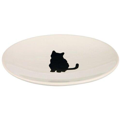 Миска TRIXIE 24490 для кошек белый миска trixie 24499 для кошек 250 мл белый