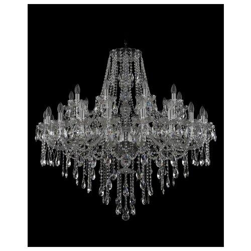 Фото - Люстра Bohemia Ivele Crystal 1415 1415/20+10/400/Ni, E14, 1200 Вт люстра bohemia ivele crystal 1415 1415 20 10 5 400 xl 180 3d g e14 1400 вт