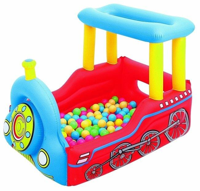 Игровой центр Bestway Train Play Center 52121