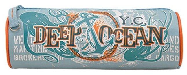 Купить Феникс+ Пенал-тубус Морской (30333) серый/оранжевый по низкой цене с доставкой из Яндекс.Маркета (бывший Беру)