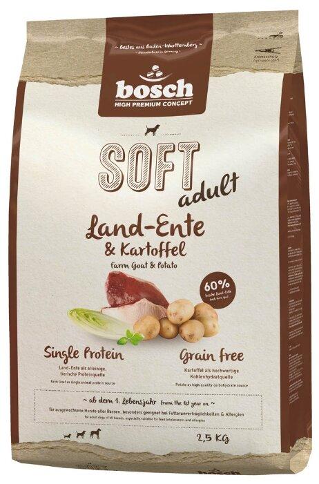 Корм для собак Bosch Soft утка с картофелем 2.5 кг