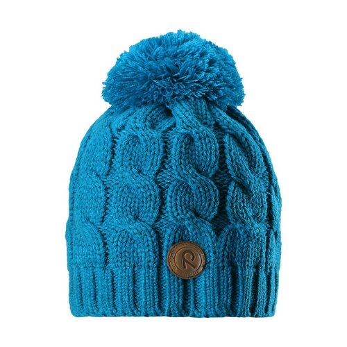 Шапка Reima размер 52, синий шапка для мальчика reima синий