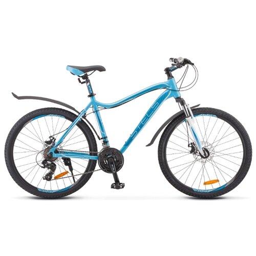 цена на Горный (MTB) велосипед STELS Miss 6000 MD 26 V010 (2019) голубой 15 (требует финальной сборки)