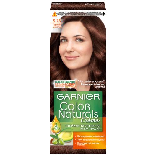 GARNIER Color Naturals стойкая питательная крем-краска для волос, 5.25, Горячий шоколадКраска<br>