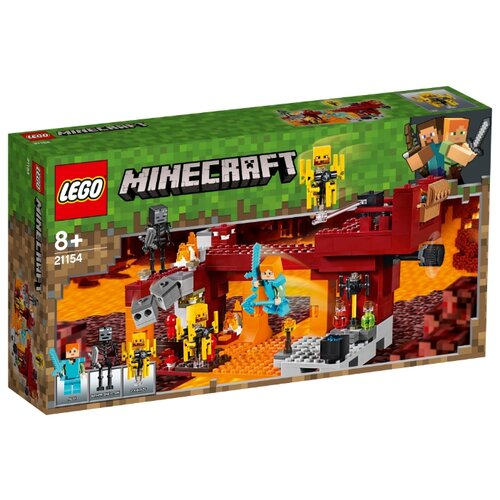 Конструктор LEGO Minecraft 21154 Мост Ифрита