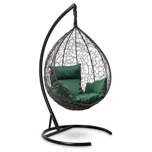 Подвесное кресло-кокон Laura Outdoor Sevilla, коричневый/зеленый