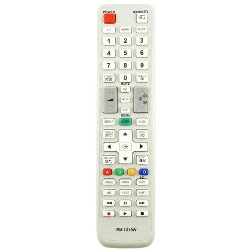 Фото - Пульт ДУ Huayu для LCD/LED TV Samsung, белый пульт ду huayu для opentech isb7 va70 черный