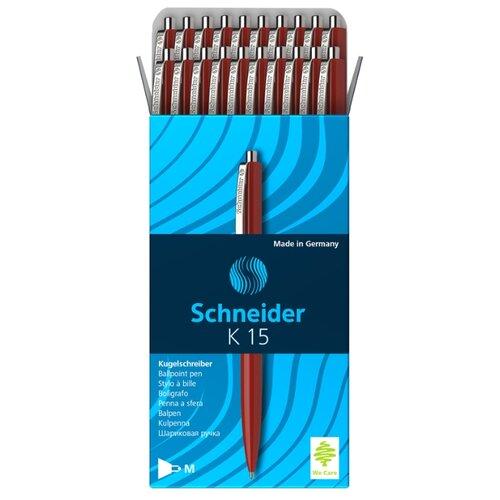 Купить Schneider Набор шариковых ручек K15 M, 1.0 мм, 20 шт., красный цвет чернил, Ручки