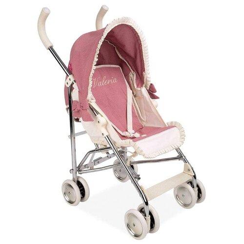 Купить Прогулочная коляска Arias Valeria (Т19839) розовый, Коляски для кукол