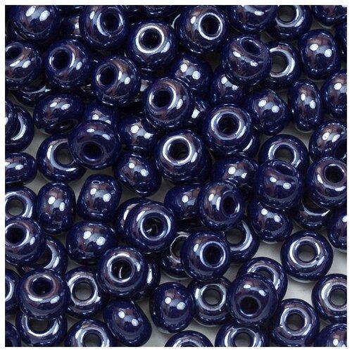 Купить Бисер Preciosa , 10/0, 50 грамм, цвет: 38070 синий, Фурнитура для украшений