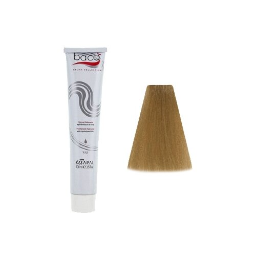 Kaaral Baco Color крем-краска для волос, 9.0 Очень светлый блондин, 100 мл