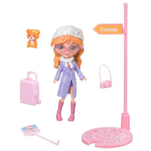 Купить Игровой набор Bondibon куколка OLY путешественница, 11.5 см, BB4314, Куклы и пупсы