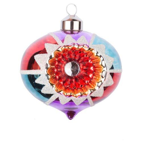 Набор елочных игрушек KARLSBACH 07331, разноцветный