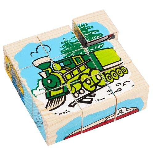 Купить Кубики-пазлы Томик Транспорт 4444-1, Детские кубики