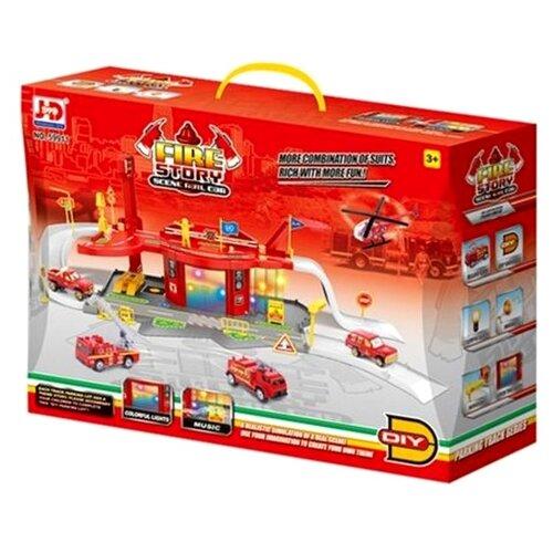 JD Chjiahuida Toys Fire Story 59911 красный/желтый/серый jd коллекция желтовато бурый 39