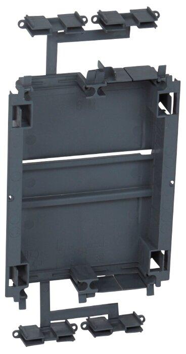 Лицевая накладка/ суппорт с рамкой для монтажа эуи в настенном кабель-канале Legrand 010965